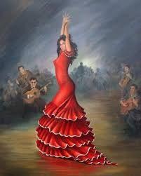 Resultado de imagen de dibujos de muñecas flamencas