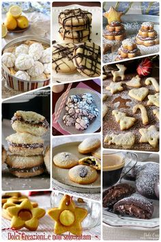italian recipes for dinner with picture Famous Italian Food, Popular Italian Food, Italian Cookie Recipes, Italian Cookies, Biscotti Cookies, Galletas Cookies, Mini Desserts, Christmas Desserts, Biscuits