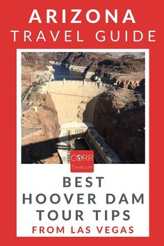 The #HooverDam is one of the top Arizona travel places to visit from #LasVegas. Add this to your Arizona Travel Guide: What you need to know for a Hoover Dam tour WITH budget travel tips! By @corrtravel #CORRTravel Arizona Travel Guide | USA Travel Guide | Travel Guides | Travel Tips and Tricks | Travel Planning | Travel Cheap Tips | Budget Travel Tips Solo Travel Tips, Usa Travel Guide, Travel Tours, Budget Travel, Travel Usa, Travel Guides, Travel Destinations, Hoover Dam, Places