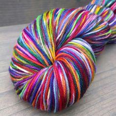 'Radiance' hand dyed yarn at Heartwarmedstudios@etsy.com