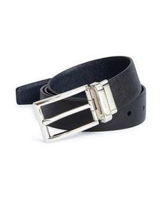 Luke 1977 GEENS Textured Roller Buckle Belt