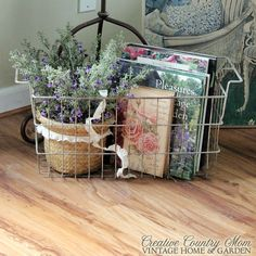 Creative Country Mom: New Cottage Garden Art Finds~~~