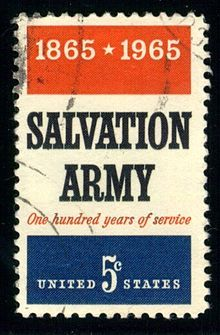 #salvationarmy I have one of these in my stamp album