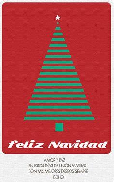 TARJETA DE FELIZ NAVIDAD 2012 by Bosketcho, via Flickr