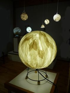 Create a hanging globe or globe lamp shade for a lamp or desk top. Using the nuno technique combined with felting on a ball you will be able to catch the soft glow of light with a felted shade.You can choose the size and number of lights ((if you work quickly you may have time to make more than 1) you want to make. Make them plain or fancy – round or shaped – explore the possibilities! Liz Canalihas been involved with art and crafts since early in her life. Trained as a commercial graphic…