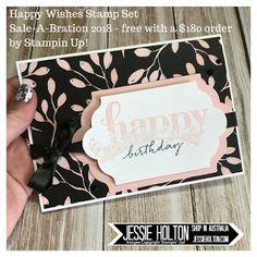 Jessie Holton: Stampin Dreams Dec Blog Hop - Happy Wishes