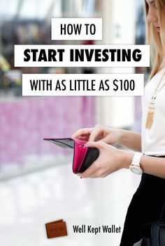 Investing for beginners - lots of good ideas here on how to start investing, even with just a little bit! No matter which investing route you choose, you can start earning money on your cash if you're willing to take the plunge and open an account, even if it's only got $100 in it.