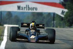 Gunnar Nilsson - Lotus 77 Belgium 1977