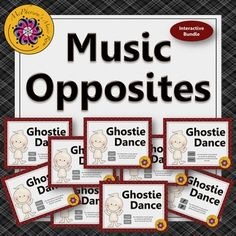 Your music students will have lots of fun reviewing the music opposites (music comparatives): high/low, loud/soft, fast/slow, rhythm/beat, same/different, forte/piano, crescendo/decrescendo, up/down...with these interactive games! Excellent resources for the Orff and Kodaly elementary music room!