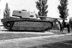 The ARL 44 was a French heavy tank produced just after World War II. Only sixty of these tanks were ever manufactured, and the type was quickly phased out.
