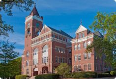 Tillman Hall at Winthrop University in Rock Hill, SC where I went to college.