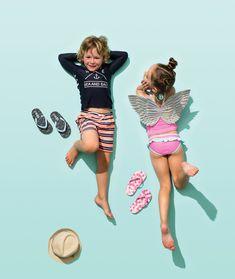 Kids Summer Fashion Looks Barefoot Kids, Asian Kids, Kids Swimwear, Swimsuits, Zara, Kids Swimming, Bikini Photos, Child Models, Summer Kids