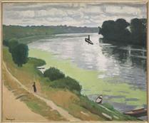 La Frette vue d'Herblay - Pierre-Albert MARQUET, dit Albert MARQUET (1875-1947)