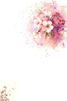 Visit the post for more. Flowers Wallpaper, Flower Backgrounds, Wallpaper Backgrounds, Iphone Wallpaper, My Flower, Flower Art, Art Flowers, Watercolor Flowers, Watercolor Paintings