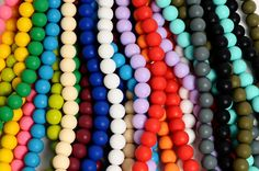 Love how these beads are designed not only for mom but also for babies! Babies can chew on this and not have to worry about them chocking. Plus the necklaces clean in warm soap and water or put them in the dishwasher! Just wish they were a little cheaper!!!