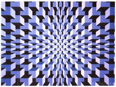 A while back I saw this image on Pinterest:      You know how excited I get about op-art and 3D images, and turning them into quilts.  So th...