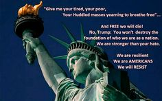 NO TRUMP, YOU WILL NOT DESTROY AMERICA. Political Opinion, Political Views, Politics, Give Me Your Tired, Give It To Me, Caricatures, Party Playlist, Law And Justice, Current President