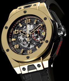 Hublot Big Bang Ferrari Magic Gold, El reloj más Potente