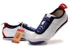 #Onitsuka Tiger Mexico 66 White/Navy/Red: awesome colorway!