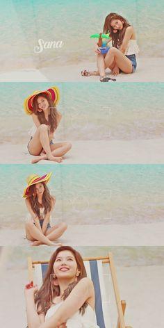 The beautiful sana K Pop, Kpop Girl Groups, Korean Girl Groups, Nayeon, Osaka, Sana Cute, Twice Chaeyoung, Sea Wallpaper, Wallpaper Quotes