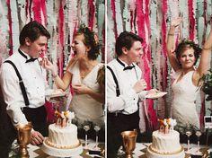 Wedding Inspiration: Хэндмейд-свадьба от Sarah Culver