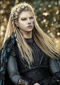 The gods will always smile on brave women by cyberaeon.deviantart.com on @deviantART