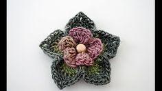 African Crochet Flower Pattern - YouTube