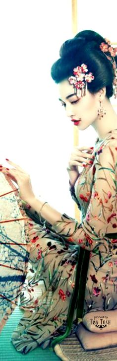 ❈Téa Tosh❈  Pop Geisha #Luxurydotcom