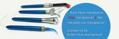 Bare Fiber Dental Handpiece - Any dental laser machine of pluggable fiber, SMA905 or FC connector are all compatible
