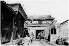 Beijing of Dreams: An archive of old photographs showing the old gates and walls of Beijing (Peking)