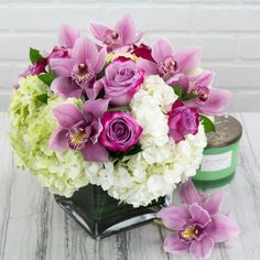Lavender With Class Beverly Hills flower delivery
