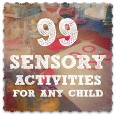 99 actividades sensoriales para niños