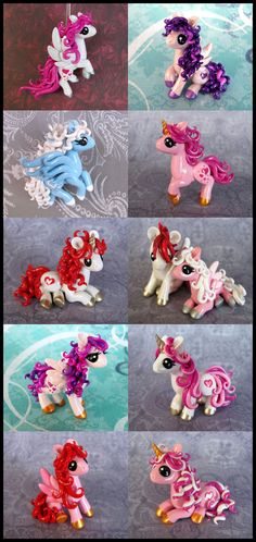 Valentine Ponies 2014 by DragonsAndBeasties.deviantart.com on @deviantART