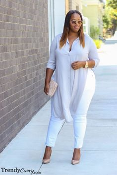 Curvy Girl Fashion Outfits, Plus sized clothing, fashion tips, plus size fall wardrobe and refashion. Fall and Autmn Fashion Outfits Trends for Plus Size. Plus Size Fashion For Women, Plus Size Women, Plus Fashion, Womens Fashion, Style Outfits, Cute Outfits, Fashion Outfits, Fashion Trends, Fashion Ideas