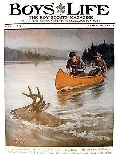 Boys Life Magazine, Magazine Art, Magazine Covers, Magazines For Kids, Children's Magazines, Adventure Magazine, Life Cover, Norman Rockwell, Outdoor Art