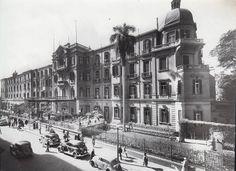 Shepheard's Hotel, Cairo, Egypt, Circa 1948