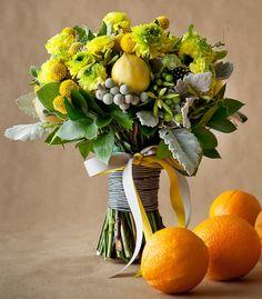 citrus accented bouquet