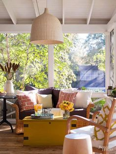 Decorating your front yard or backyard deck is almost as important as decorating your inside rooms. These ideas will help you develop designs that will improve your porch or patio. Check out how to make your outdoor living space stylish and functional.