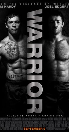 Directed by Gavin O'Connor.  With Tom Hardy, Nick Nolte, Joel Edgerton, Jennifer Morrison. The youngest son of an alcoholic former boxer returns home, where he's trained by his father for competition in a mixed martial arts tournament - a path that puts the fighter on a collision course with his estranged, older brother.
