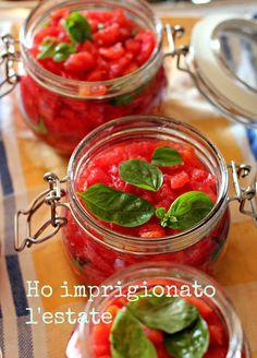 Andante con gusto: La mia polpa pronta e della salsa fatta in casa