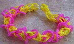 Papillion amarillo-rosa
