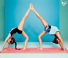 yoga poses for kids for 2 people