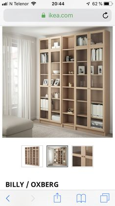 Billy Oxberg, Shelving, The Unit, Home Decor, Homemade Home Decor, Shelves, Shelf, Open Shelving, Decoration Home