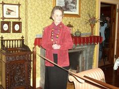 Lorraine Warren~Paranormal Icon at the Mark Twain House... Hartford, CT