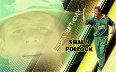 CricMagic Wishes Happy Birthday to South African Cricket Legends and one of The Best Allrounder in modern cricket Shaun Pollock - Turns 42 Today! With a Stat i.e 7386 runs and 829 wickets in international cricket. Only 5th player to score 3000 runs and took 300 wickets in Test matches.can you imagine how important Shaun Pollock was for South African team? Wickets, Wish, Legends, Happy Birthday, African, Modern, Movie Posters, Happy Brithday, Trendy Tree