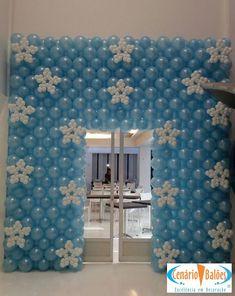 Fotos - Frozen- Cenário Balões - Excelência em Decoração
