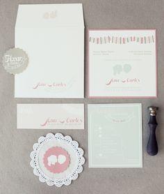 Wedding invitation suite Modelos de invitaciones para una Boda.....