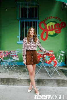 Lola Kirke Teen Vogue September 2015 Issue Photos | Teen Vogue