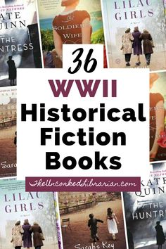 Check out these 36 WW2 historical fiction books to read. If you love WWII romance, mysteries, and thrillers along with WWII historical fiction based on true stories, you'll be sure to find something good to read on this World War 2 book list. Historical Fiction Books For Kids, Fiction Books To Read, Great Books To Read, Fiction And Nonfiction, Books For Teens, Mystery Books, Thrillers, Romance Books, Livres