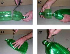 Como fazer Vassoura com Garrafa Pet